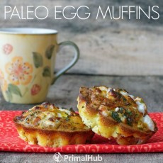 Paleo Egg Muffins #paleo #eggs #breakfast #muffins #healthy #glutenfree