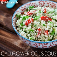 Cauliflower couscous #paleo #cauliflower #couscous #glutenfree #grainfree