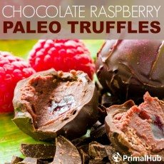 Chocolate Raspeberry Paleo Truffles #paleo #truffles #raspberry #chocolate #dessert