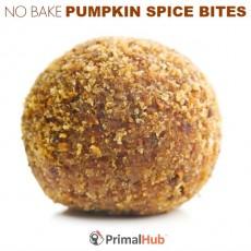 No Bake Pumpkin Spice Latte Bites #paleo #nobake #pumpkin #pumpkinspice #dessert