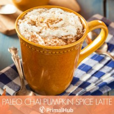 Paleo Chai Pumpkin Spice Latte #Paleo #pumpkin #pumpkinspice #glutenfree #dairyfree #chai #psl