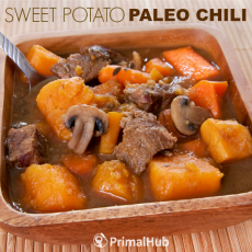 Sweet Potato Paleo Chili #paleo #chili #sweetpotato #healthy #glutenfree