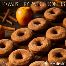 10 Must Try Paleo Donuts #paleo #donuts #dessert #bread #healthy