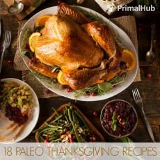18 Paleo Thanksgiving Recipes #Paleo #thanksgiving #glutenfree #recipes