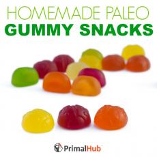 Homemade Paleo Gummy Snacks #paleo #homemade #gummy #snacks