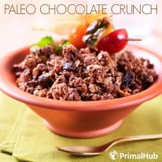 Paleo Chocolate Crunch #paleo #cereal #chocolate #granola #crunch