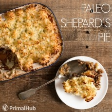 Paleo Shepard's Pie #paleo #glutenfree #shepardspie #groundbeef