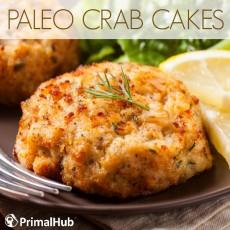 Paleo Crab Cakes #Paleo #crabcakes #crab #glutenfree #fish