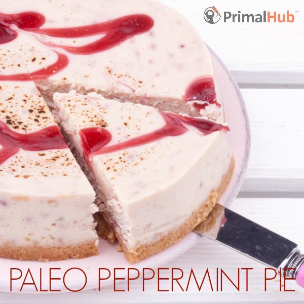 Paleo Peppermint Pie #paleo #peppermint #pie #dessert #glutenfree #dairyfree