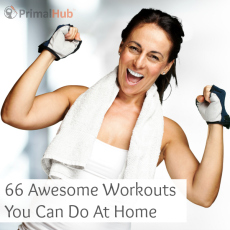 20 Awesome workouts you can do at home!