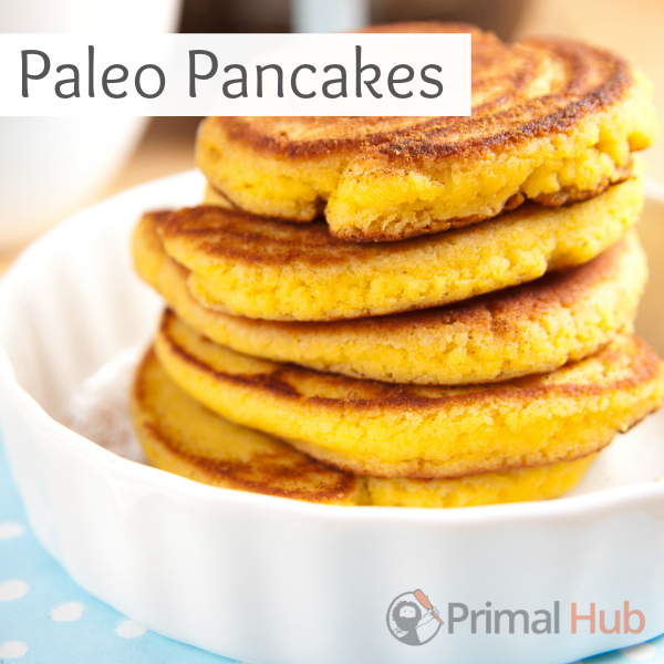 These grain free Paleo pancakes are awesome!