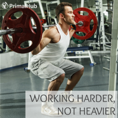 Working Harder, Not Heavier #lifting #health #strength #exercise #fitness