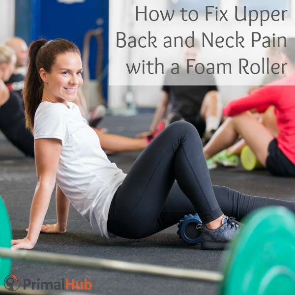 How to Fix Upper Back and Neck Pain with a Foam Roller #exercise #fitness #recovery #health #foamrolling