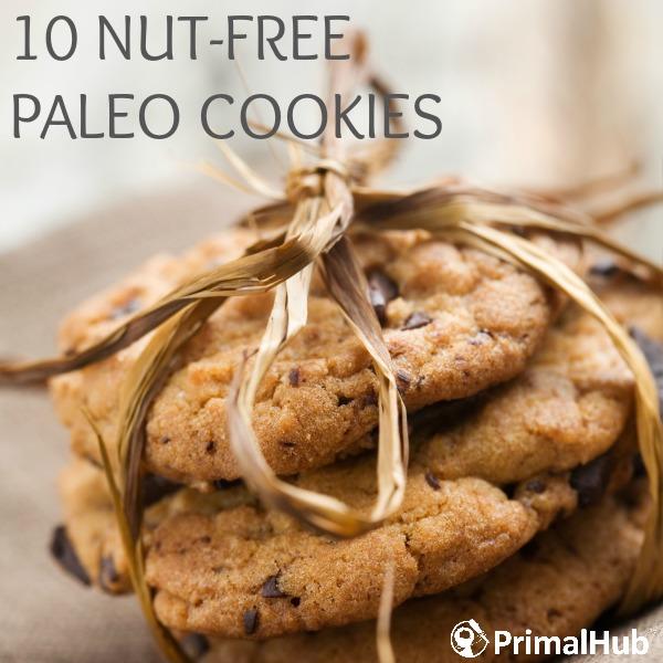 10 Nut-Free Paleo Cookies #Paleo #nutfree #grainfree #glutenfree #cookies