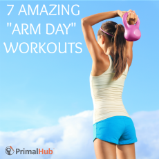 7 Amazing 'Arm Day' Workouts - #exercise #fitness #armday #workout #athome