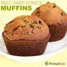 Paleo Sweet Potatoe Muffins #paleo #sweetpotatoes #muffins #glutenfree