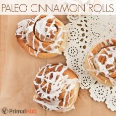 Paleo Cinnamon Rolls #paleo #cinnamon #breakfast #healthy #glutenfree #dairyfree