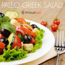 Paleo Greek Salad #paleo #salad #healthy #realfood #dairyfree #glutenfree