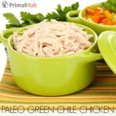 Paleo Green Chile Chicken #paleo #chicken #greenchile #Healthy #dinner