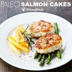 Paleo Salmon Cakes #paleo #salmon #cakes #realfood #glutenfree #grainfree #fish