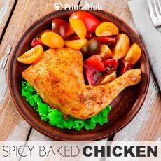 Spicy Baked Chicken #paleo #spicey #chicken #chickenbreast #healthy