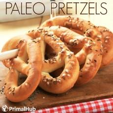Paleo Pretzels #Paleo #pretzels #glutenfree #grainfree #snacks #bread