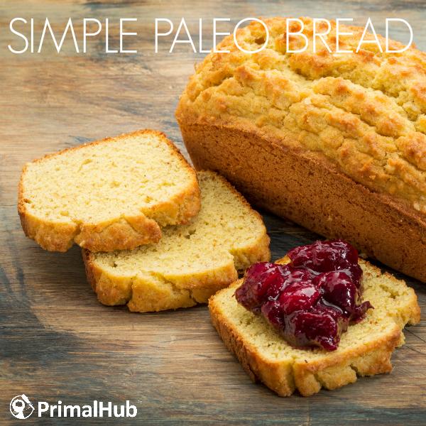 Simple Paleo Bread #paleo #bread #simple #glutenfree #grainfree