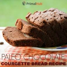 Chocolate Courgette Bread Recipe #paleo #chocolate #paleo #courgette #glutenfree #grainfree #dessert
