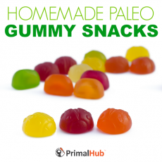 Homemade Paleo Gummy Snacks #paleo #homemade #gummy #snacks