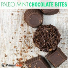 Paleo Mint Chocolate Bites #paleo #Mint #chocolate #glutenfree #dessert #snacks