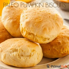 Paleo Pumpkin Biscuits #paleo #Pumpkin #biscuits #Breakfast #glutenfree