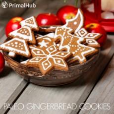 Paleo Gingerbread Cookies #paleo #gingerbread #cookies #dessert