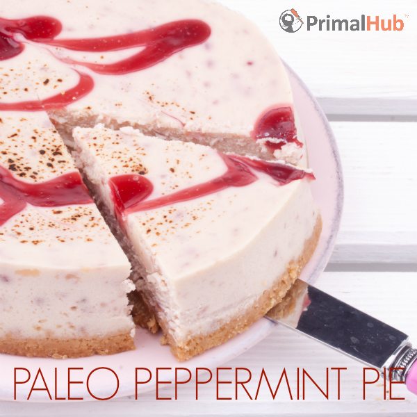 Paleo Peppermint Pie #paleo #peppermint #pie #dessert #glutenfree #dairyfree