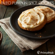 Paleo Pumpkin Spice Cookies #paleo #pumpkin #cookies #pumpkinspice #dessert