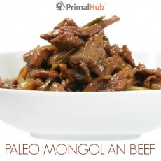 Paleo Mongolian Beef #paleo #mongolian #beef #healthy #glutenfree #grainfree