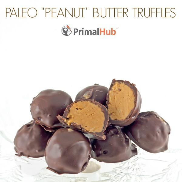Paleo Peanut Butter Truffles #paleo #peanutbutter #truffles #dessert #healthy